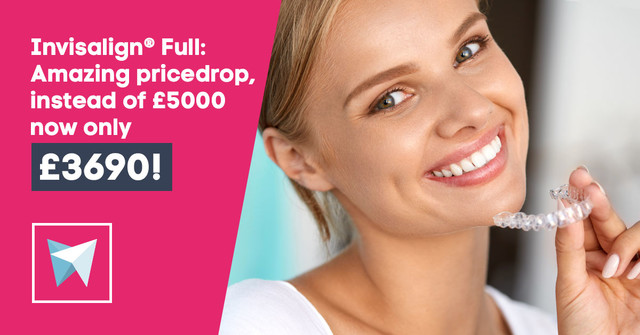 Invisalign® Full is available for £3690!